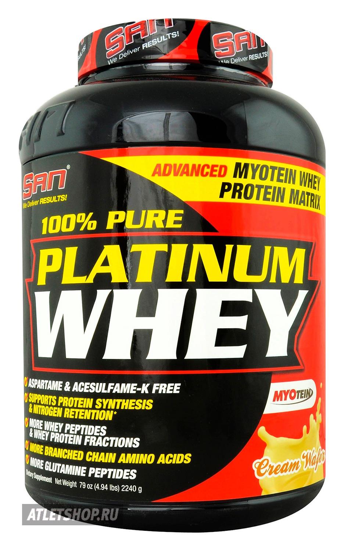 купить протеин san pure platinum whey